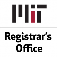 MIT Registrar's Office